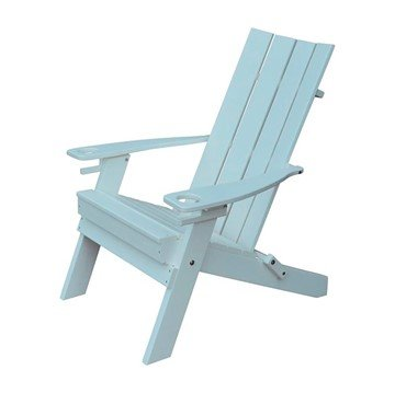 Hampton Recycled Plastic Adirondack with Cupholders