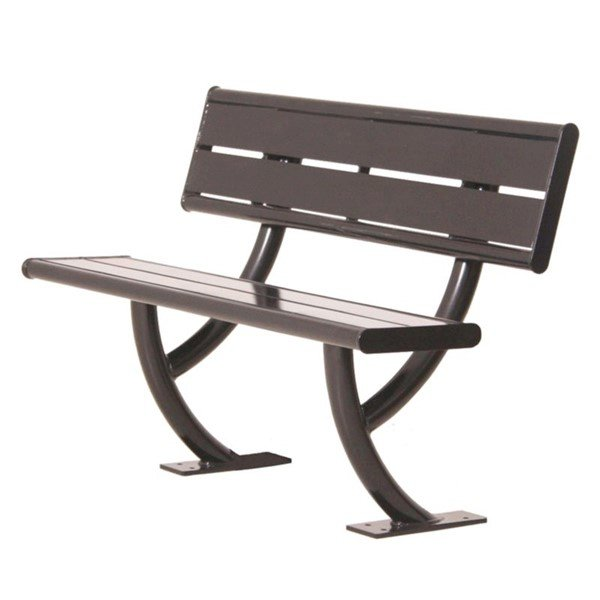 Acadia Bench with Back