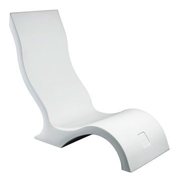Signature Plastic Resin In-Pool Patio Chair - 33 lbs.