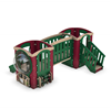 Tot Trek Little Base Commercial Playset Made From Recycled Plastic - Ages 6 Months To 2 Years - Front
