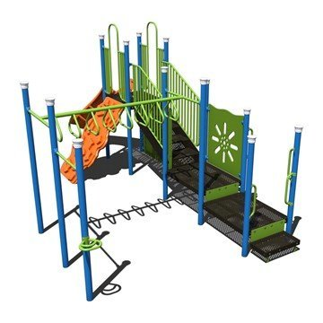 Monkeying Around Commercial Steel Playground Equipment - Ages 5 To 12 Years