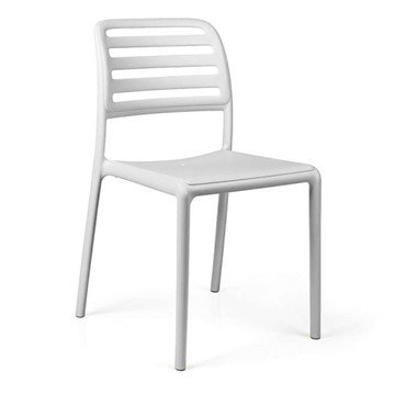 Costa Bistrot Plastic Resin Dining Chair