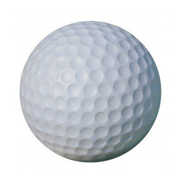 "24"" Reinforced Concrete Golf Ball Bollard - 750 Lbs."