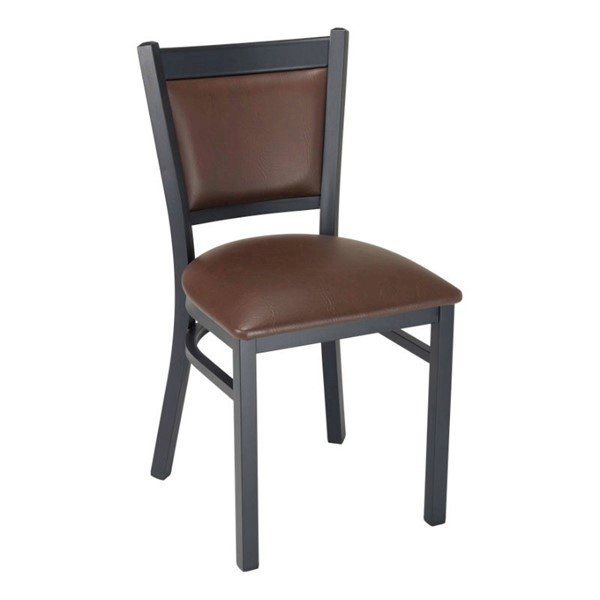 Vinyl Indoor Restaurant Dining Chair