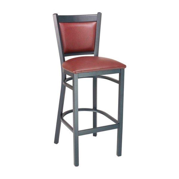 Vinyl Indoor Restaurant Bar Height Chair