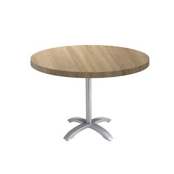 "30"" Round Vanguard Indoor Table with Aluminum Base"