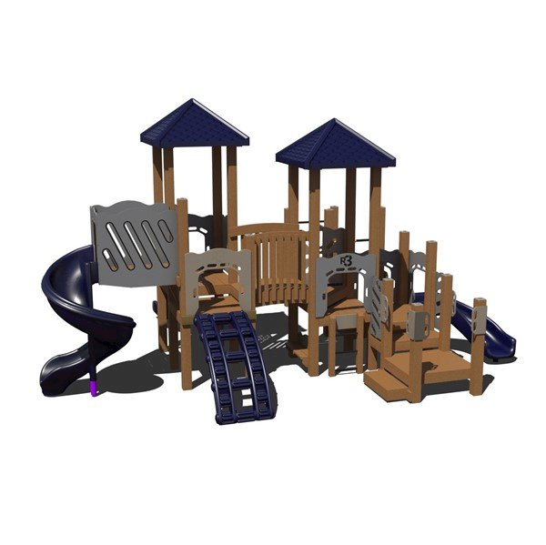 New Kingdom Commercial Playset Made From Recycled Plastic