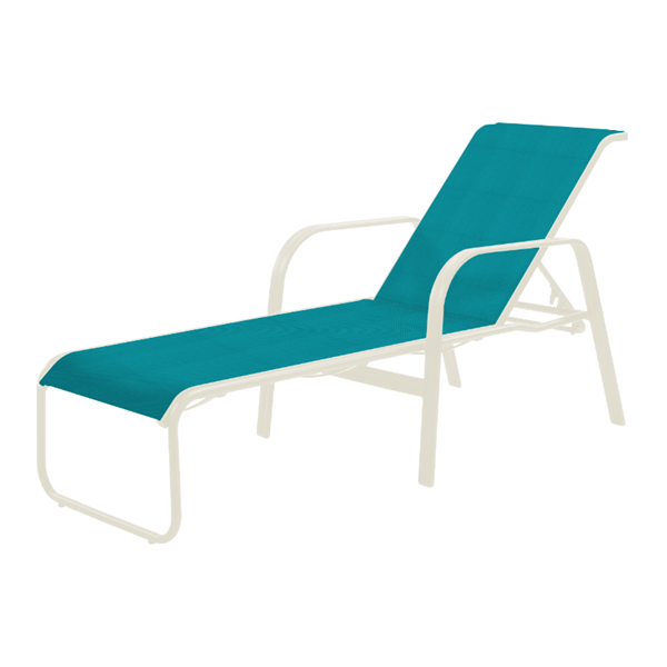 Cabo Chaise Lounge - Commercial Aluminum Frame