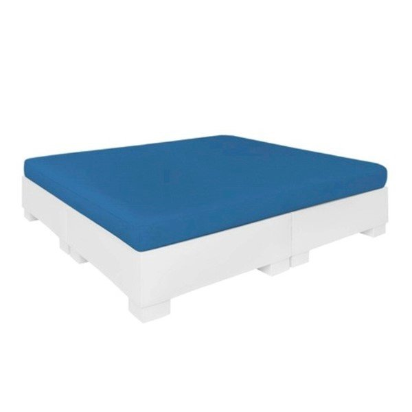 Affinity Plastic Resin Sunbed with Cushion