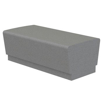 Our Town Sectional Concrete Bench - 4 ft.