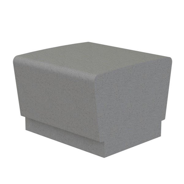 Our Town Sectional Concrete Bench - 2 ft.