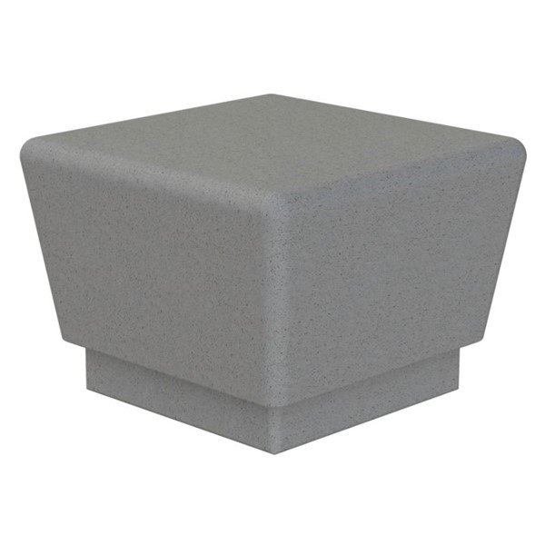 Our Town Sectional Concrete Single Bench - 2 ft.