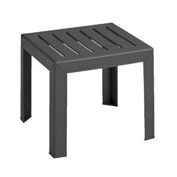 "16"" x 16"" Commercial Plastic Resin Bahia Low Table"
