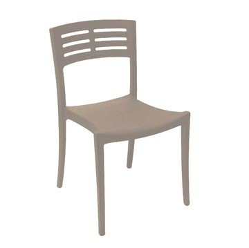 Vogue Stacking Commercial Plastic Resin Dining Chair