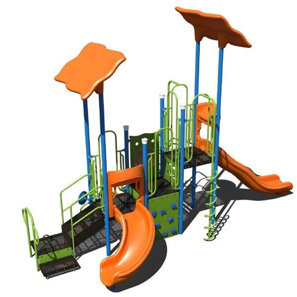 Vine Climber Commercial Steel Playground Set - Ages 2 To 12 Years