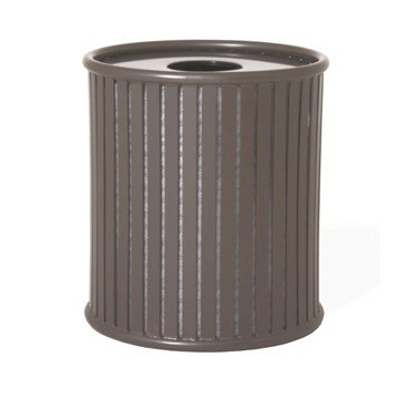 Zion 32 Gallon Steel Trash Receptacle