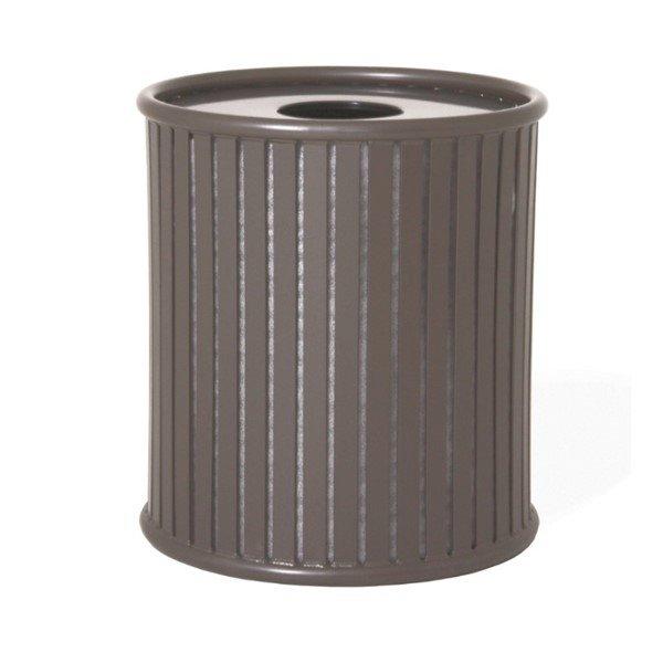 Zion 32 Gallon Steel Trash Receptacle