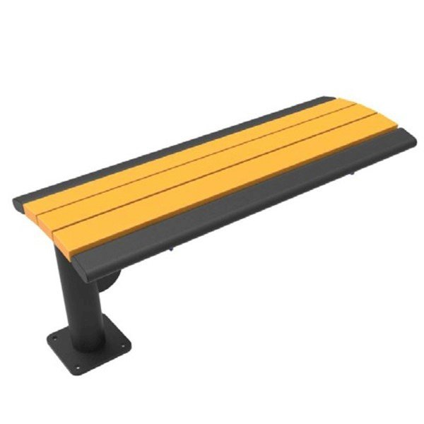 Arches Recycled Plastic Cantilever Bench