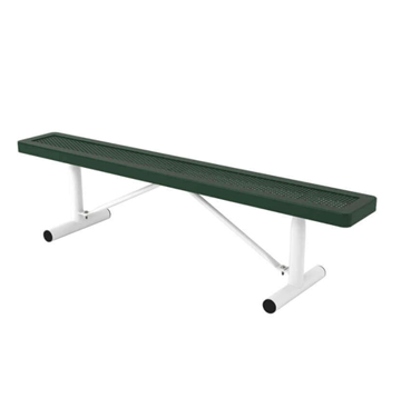 Innovated Style Polyethylene Coated Portable Backless Bench