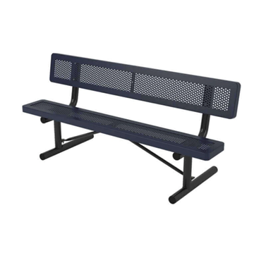 Innovated Style Polyethylene Coated Portable Bench
