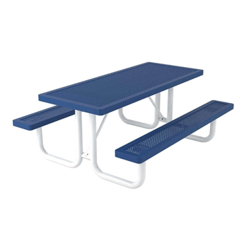 Innovated Style Polyethylene Coated Steel Picnic Table