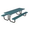 Innovated Style Polyethylene Coated Steel Picnic Table
