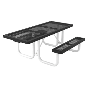 Regal Style ADA Compliant Polyethylene Coated Metal Picnic Table