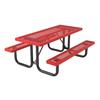 Regal Style Polyethylene Coated Metal Picnic Table