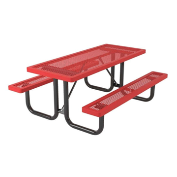 Regal Style Polyethylene Coated Metal Picnic Table