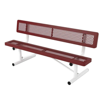 Regal Style Polyethylene Coated Portable Bench
