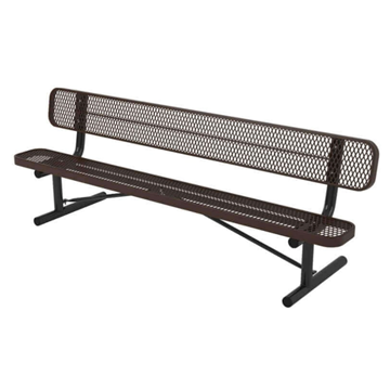 Ultra Leisure Style Polyethylene Coated Metal Portable Bench