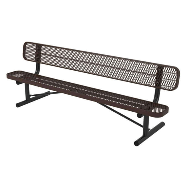 Ultra Leisure Style Polyethylene Coated Metal Portable Bench