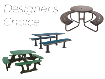 Picture for category Designer's Choice Picnic Tables