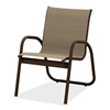 Telescope Gardenella Sling Dining Chair with Aluminum Frame