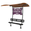 Bench Shade Attachment