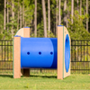 Dog Park Recycled Plastic Short Tunnel