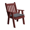 Traditional English Style Recycled Plastic Dining Chair