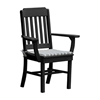 Traditional Recycled Plastic Dining Chair