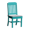 Traditional Recycled Plastic Dining Chair with Armless Frame