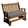 Traditional Recycled Plastic Glider Bench