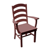 Ladderback Recycled Plastic Dining Chair