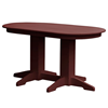 Oval Recycled Plastic Dining Table
