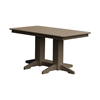 Rectangular Recycled Plastic Dining Table