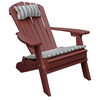 Recycled Plastic Reclining Adirondack Chair