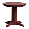Round Recycled Plastic Dining Table