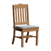 Royal Recycled Plastic Dining Chair with Armless Frame
