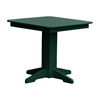 Square Recycled Plastic Dining Table