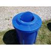 42 Gallon Plastic Round Trash Receptacle