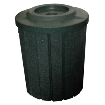 42 Gallon Round Signature Plastic Receptacle