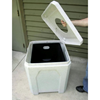 52 Gallon Square Plastic Receptacle